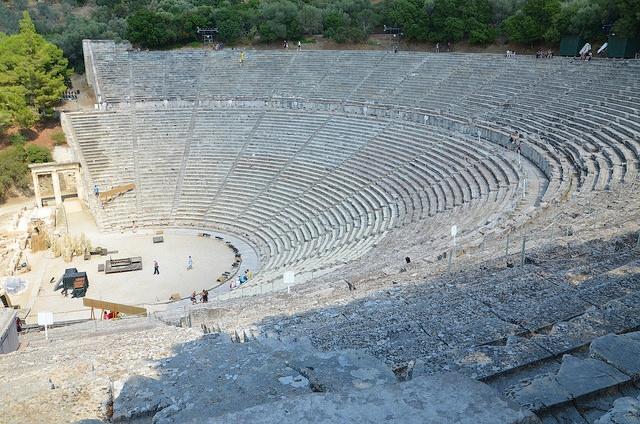 Амфитеатр в Эпидавросе.
