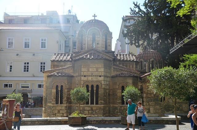 Афины церковь
