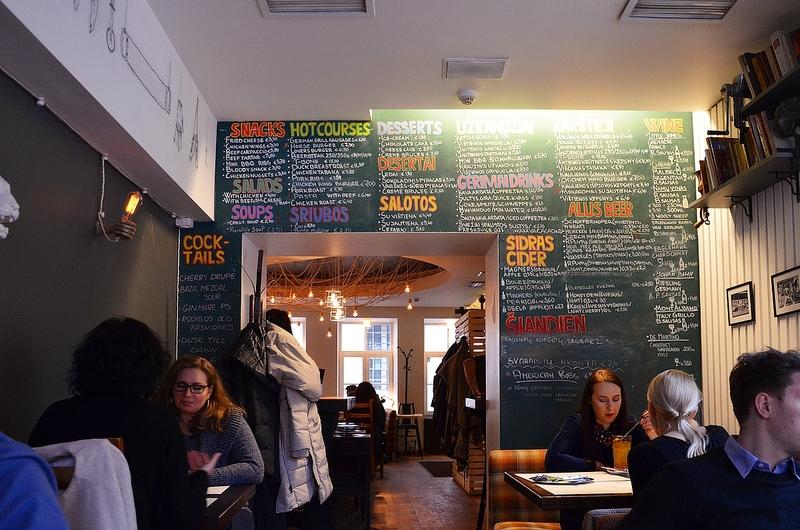 Интерьер Meat Lovers Pub в Вильнюсе