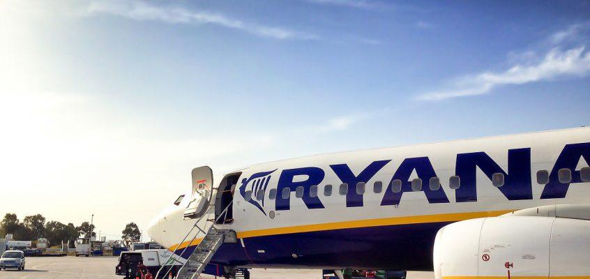 RyanAir с апреля полетит из Киева в Софию, Афины, Дублин, Манчестер и на Кипр.